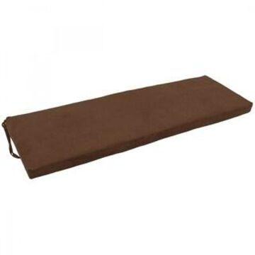 Blazing Needles 60-inch Microsuede Indoor Bench Cushion - 60 x 19
