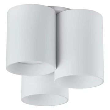 Vistal 3-Light Flush Mount, White