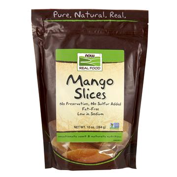 Mango Slices Now Foods 10 oz Bag