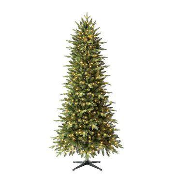 7Ft Pre-Lit Denison Slim Fir Artificial Christmas Tree, Fairy Warm White LED Lights by Ashland   Michaels