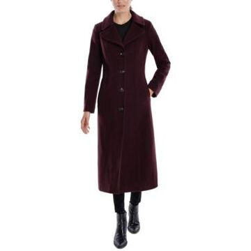 Anne Klein Single-Breasted Maxi Coat, Created for Macy's