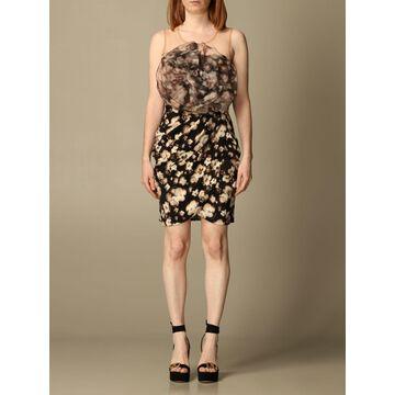 Elisabetta Franchi floral short dress