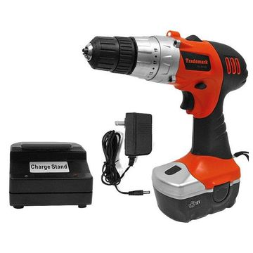 18V Cordless Drill with LED, Level and Magnet Base by Stalwart
