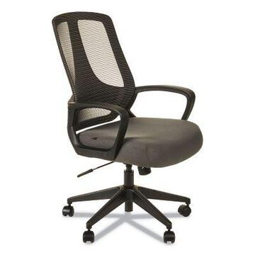 Alera MB Series Mesh Mid-Back Office Chair, Supports Up To 275 lb., 18.11 in. to 21.65 in. Seat Height, ALEMB4748