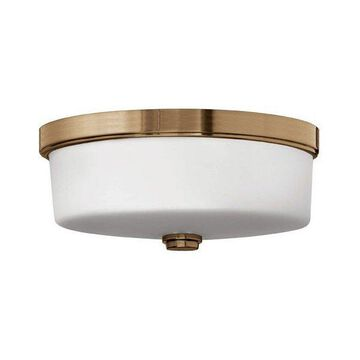 Brushed Bronze Foyer Flush Mount