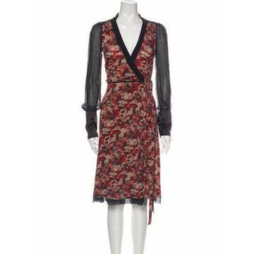 Wool Midi Length Dress w/ Tags Wool