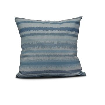 E by Design 20-inch Raya De Agua Stripe Print Pillow