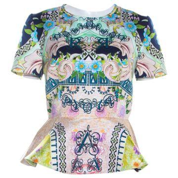 Mary Katrantzou Multicolour Silk Tops