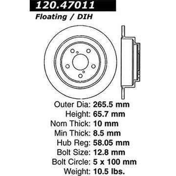 Stoptech 126.47011SR Auto Part