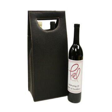 Piel Leather Double Wine Carrier
