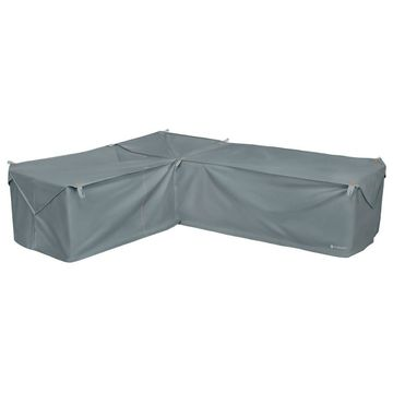 Storigami Easy Fold Left-Facing Sectional Cover Monument Gray - Classic Accessories