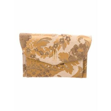 Canvas Clutch Bag Gold