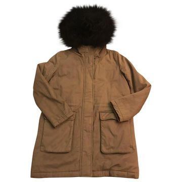 The Kooples FW18 Khaki Cotton Coats