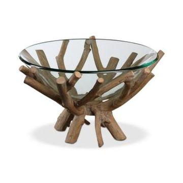 Uttermost Thoro Wood Bowl