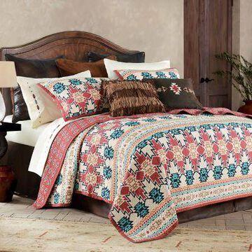 HiEnd Accents Phoenix Quilt Bedding Sets, 3-Piece