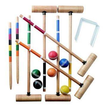 Franklin Sports Professional 6-Player Croquet Set
