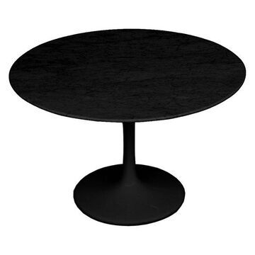 Fine Mod Imports Flower Marble Table 32