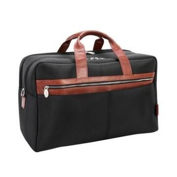 """McKlein Wellington 21"""" Two-Tone Dual-Compartment Laptop Tablet Carry-All Duffel"""