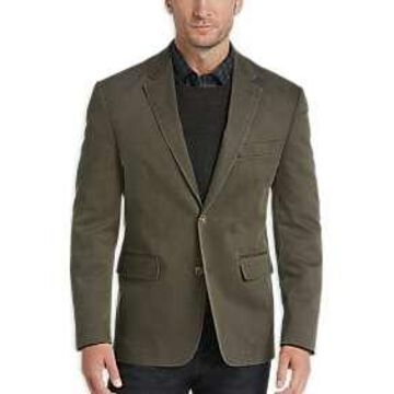 Joseph Abboud Olive Casual Coat