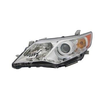 Headlight Depo - 12-14 Toyota Camry L/LE/XLE/Hybrid Headlamp Assembly LEFT HAND / DRIVER SIDE NSF Certified