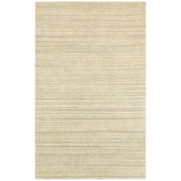 Style Haven Solid Beige Wool Distressed Handcrafted Area Rug (10' x 13') - 10' x 13'