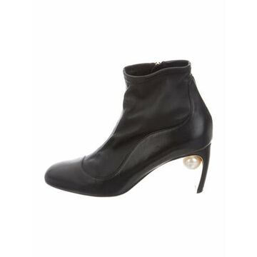 Leather Boots Black