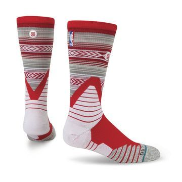 Houston Rockets Stance Noches Socks - Red
