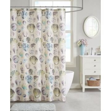 "Jla Home Cavallini 72""x 72"" Shower Curtain Bedding"
