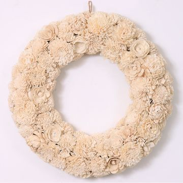 SONOMA Goods for Life White Floral Wreath