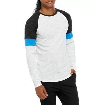 Ocean Current Men's Color Block Raglan Sleeve Shirt - -
