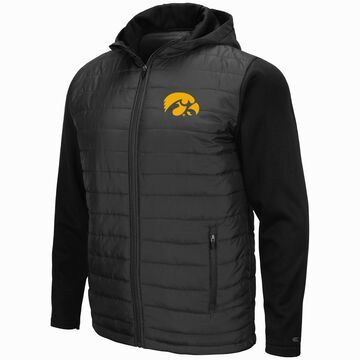 Mens NCAA Iowa Hawkeyes Everest Full Zip Jacket