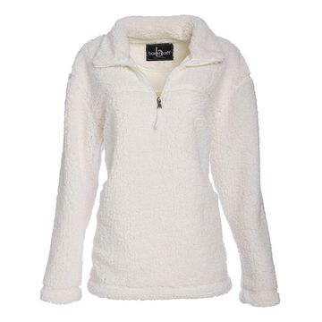 Boxercraft Women's Pullover Sweaters NAT - Natural Sherpa Pullover - Women & Plus