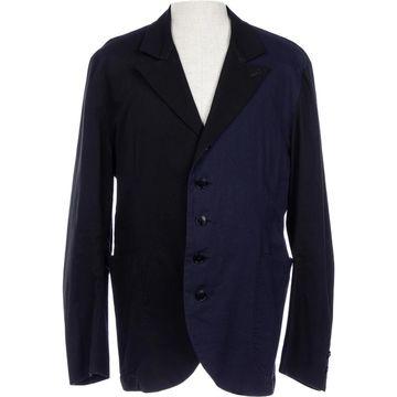 Yohji Yamamoto Black Cotton Jackets