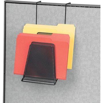 Fellowes, Mesh Partition 6-Compartment Step File, 1 / Each, Black