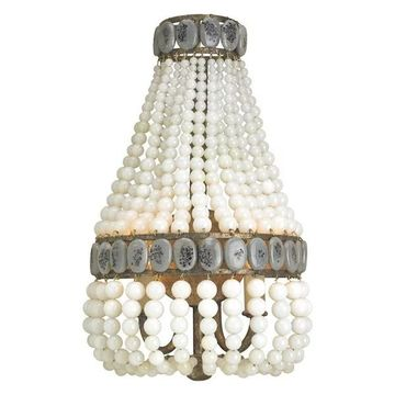 Currey and Company 5187 Lana 2 Light Wall Sconce - MultiColor