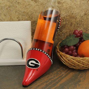Georgia Bulldogs High Heel Shoe Bottle Holder - Red