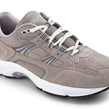 Vionic Womens walker Leather Low Top Lace Up Walking Shoes