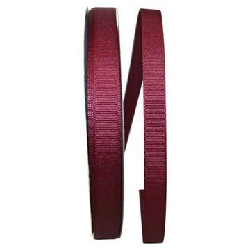 "JAM Paper 5/8"" Grosgrain Texture Ribbon in Burgundy   5/8"" x 100yd   Michaels"
