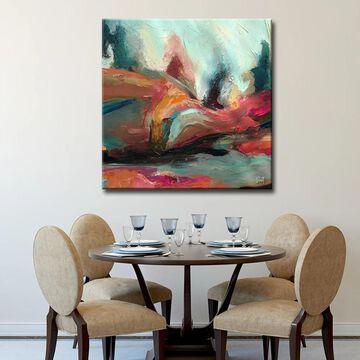 Ready2HangArt 'Abstract ABS XII' Modern Canvas Wall Art