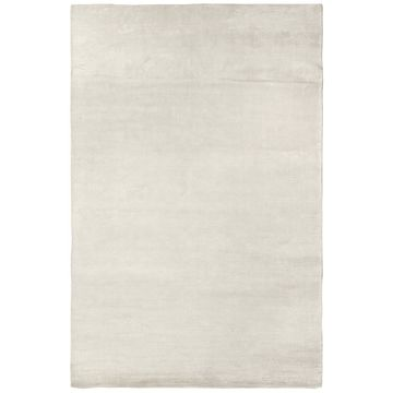 Exquisite Rugs Swell White Viscose Rug - 4' x 6'