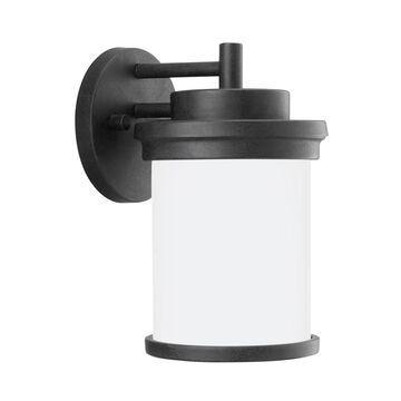 Sea Gull Lighting Winnetka Outdoor 10.25-in H Forged Iron Medium Base (E-26) Outdoor Wall Light ENERGY STAR | 88660EN3-185