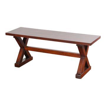 Unbranded Presley Wood Bench