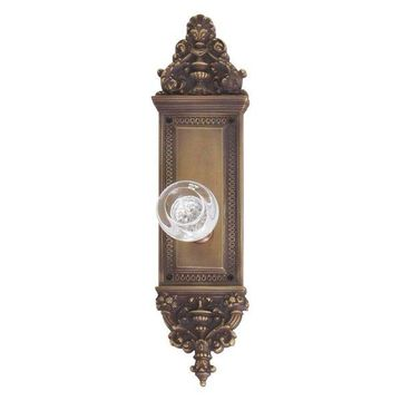 Apollo Passage Door Set, Aged Brass, 3-5/8