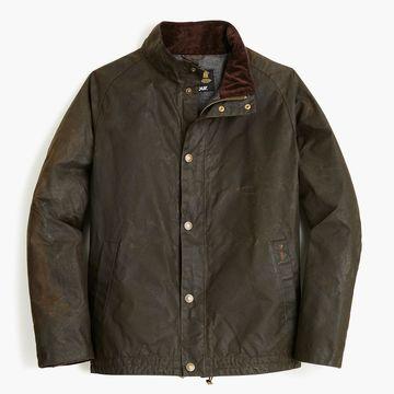 Barbour& Sylkoil Duxbury jacket