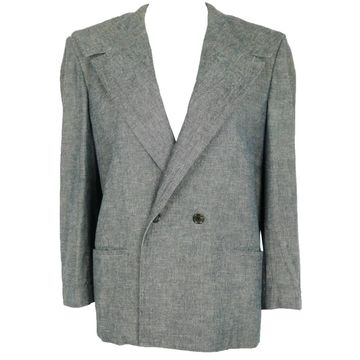 Comme Des Garcons Grey Linen Jackets
