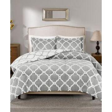 True North by Sleep Philosophy Peyton Reversible 3-Pc. Full/Queen Comforter Set