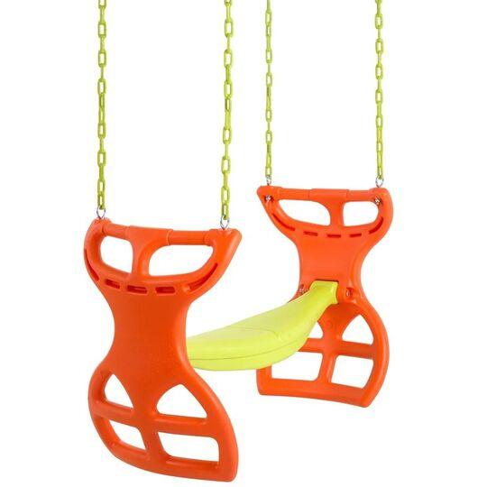Swingan Two Seater Orange  Yellow G