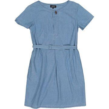 Apc \N Blue Cotton Dresses
