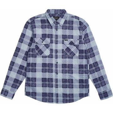 Brixton Bowery Lightweight Long-Sleeve Flannel Shirt - Men's