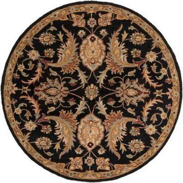 Artistic Weavers Middleton Amelia 8-Foot Round Area Rug in Black